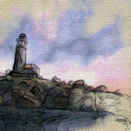 TESIV Painting Anvil Lighthouse