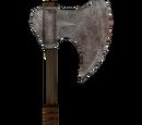 Iron War Axe (Oblivion)