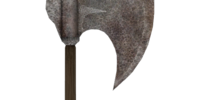 Durable Iron War Axe