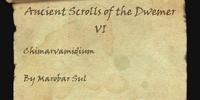 Ancient Scrolls of the Dwemer VI