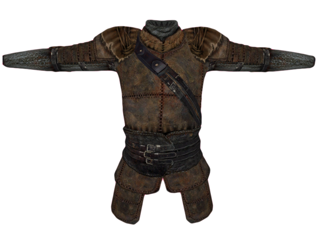 File:Leather Cuirass (Oblivion).png