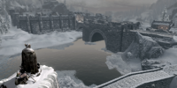 Shrine of Talos Overlooking Windhelm