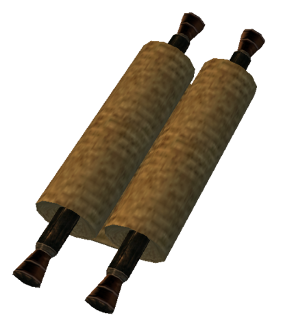 File:TES3 Morrowind - Book - Scroll 02.png