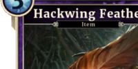 Hackwing Feather