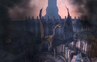 Light the Dragonfires Akatosh Statue