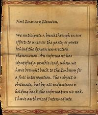 Dragon Investigation Current Status Page1