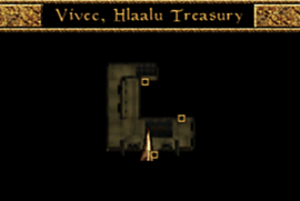 Vivec, Hlaalu library Interior Map Morrowind