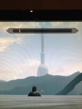 White Gold Tower in Skyrim!!!