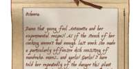 Vicente's Note to Ocheeva