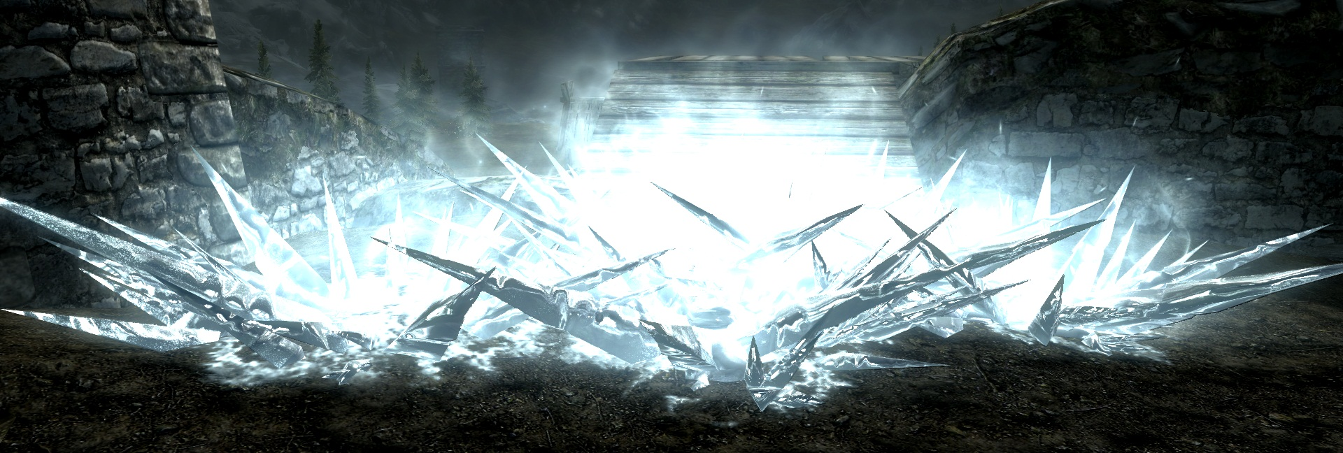 skyrim how to get ice spell