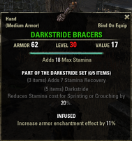 Darkstride - Bracers 30