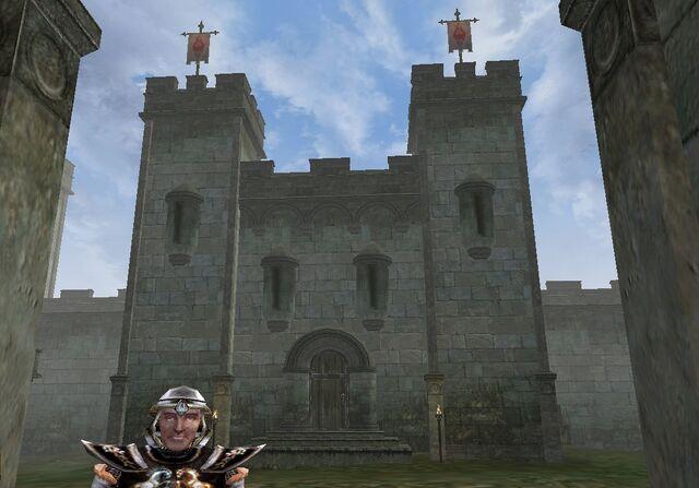 File:TES3 Morrowind - Pelagiad - Fort Pelagiad exterior.jpg