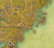 Glenumbra Treasure Map I MiniMap
