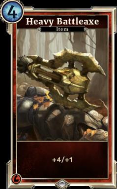 Heavy Battleaxe (Legends)