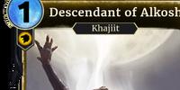 Descendant of Alkosh