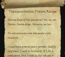 Transmutation Potion Recipe