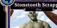 Stonetooth Scrapper