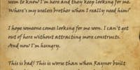Kireth's Journal, Page 25