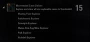 Morrowind Cave Delver Achievement