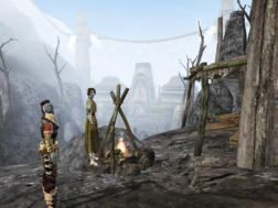 Ghostgate Camp Morrowind
