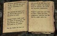 Skyrim book Of Fjori and Holgeir pg4-5
