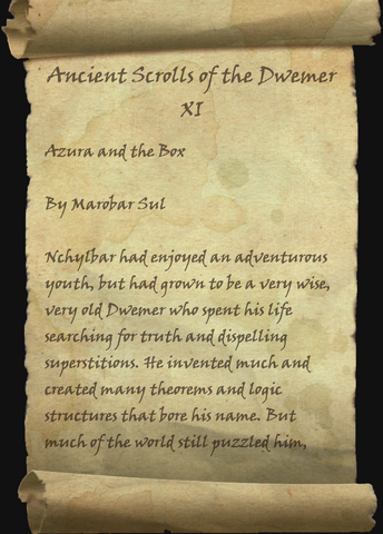 File:Ancient Scrolls of the Dwemer XI 1 of 8.png