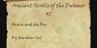 Ancient Scrolls of the Dwemer XI