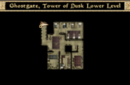 Ghostgate Tower of Dusk Lower Level Interior Map Morrowind