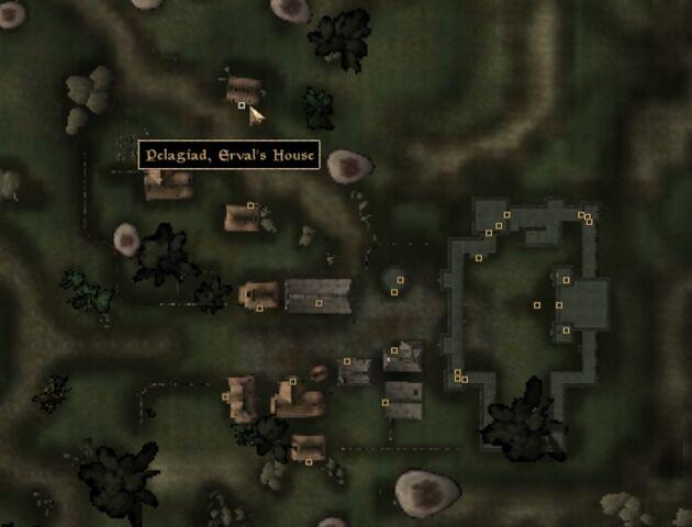 File:TES3 Morrowind - Pelagiad - Erval's House - location map.jpg