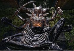 Argonian Sithis Statue