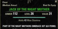Night Mother's Embrace