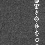 Shadowmarks T-Shirt Detail