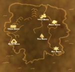 TES3 Bloodmoon - Map - Locations of the Stones