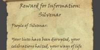 Reward for Information: Silvenar