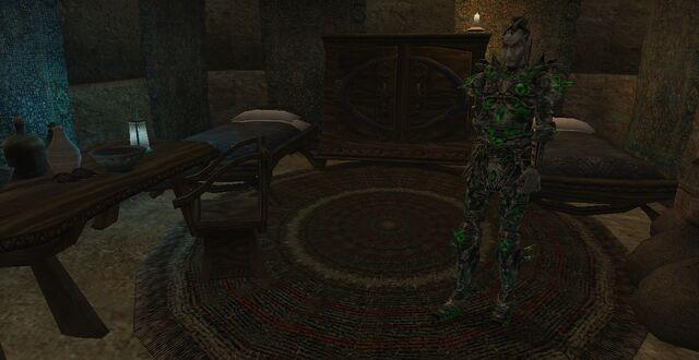 File:TES3 Morrowind - Molag Mar - Armigers Stronghold interior Ulms Drathen.jpg