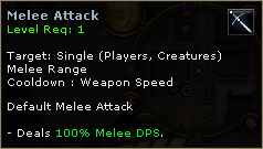 Melee Attack