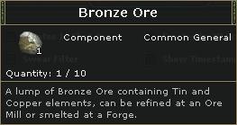Bronze Ore