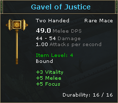 Gravel of Justice