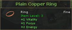 PlainCopperRing