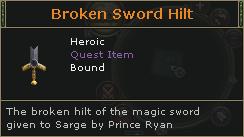 Broken Sword Hilt