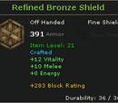 Refined Bronze Shield