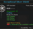 Exceptional Silver Shield