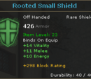 Rooted Small Shield