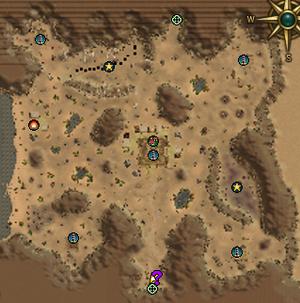 MapAzraqDesert
