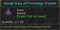 Small Bag of Prestige Points