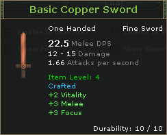 Basic Copper Sword