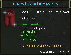 LacedLeatherPants