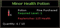 Minor Health Potion
