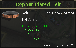 Copper Plated Belt