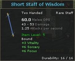 Short Staff of Wisdom